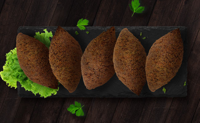 Meat Kibbeh with Pine Nuts