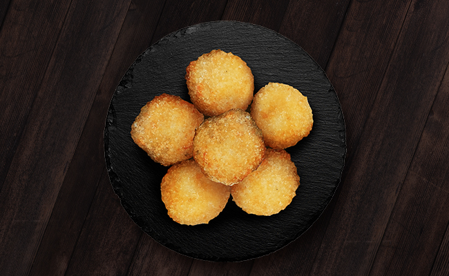 Three Cheese Filled Arancini